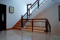 the stair landing at the first floor.